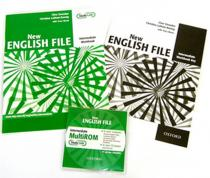 Oxford University Press New Eenglish File: Intermediate: Workbook with Key and MultiROM Pack - Six-Level General English Course for Adults (Oxenden Clive)(Mixed media product)