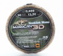 Prologic Hooklink Mono Mimicry 3D Mirage XP 40m - 0,37mm 9kg