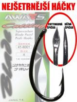 Awa-S Cutting Blade 6001 Black Nickel 10ks