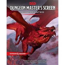 Wizards of the Coast Dungeons and Dragons: Reincarnated DM Screen