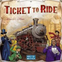 Days of Wonder Ticket to Ride (anglicky)