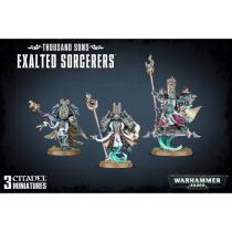 Games Workshop Warhammer 40000: Thousand Sons Exalted Sorcerers
