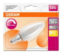Osram LED SUPERSTAR ClasB 230V 3,3W 827 E14