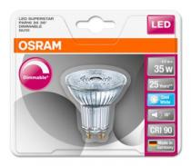 Osram LED SUPERSTAR PAR16 36° 230V 4,5W 940 GU10