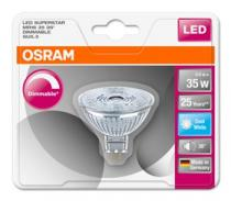 Osram LED SUPERSTAR MR16 36° 230V 5W 840 GU5.3