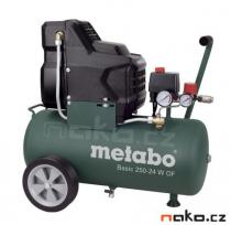 METABO Basic 250-24 W OF kompresor bezolejový