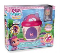 TM TOYS Cry Babies Magic Tears: Super domek Katie
