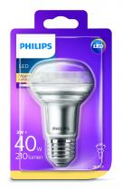 PHILIPS Lighting LED 3W/40W E27 WW R63 36D ND smerová