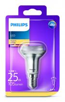 PHILIPS Lighting LED 1W/25W E14 WW R50 36D ND smerová