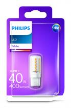 PHILIPS Lighting LED 3,2W/40W G9 WH ND 1BC/6