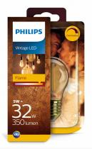 PHILIPS Lighting LED Vintage classic E27 5W/32W P45 2200K GOLD stmívatelná SRT4