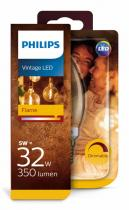 PHILIPS Lighting LED Vintage classic E14 5W/32W B35 2200K GOLD stmívatelná SRT4