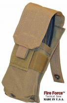 FIRE FORCE TACTICAL GEAR INC FIRE FORCE TACTICAL GEAR INC molle na 2 zásobníky M4-M16 single Mag Pouch coyote Fire