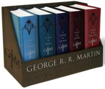 Bantam Books Game of Thrones - komplet 5 knih (anglicky) - George R. R. Martin