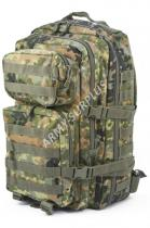 MILTEC ASSAULT Pack US 36l molle flecktarn LG