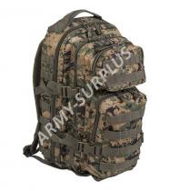 MILTEC ASSAULT Pack US 20l molle Marpat digital woodland malý