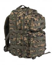 MILTEC ASSAULT Pack US 36l molle Marpat digital woodland
