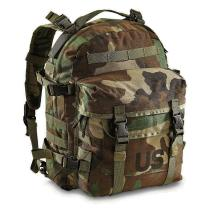 ARMÁDNÍ ORIGINÁL US ARMY SDS Large Assault Pack Molle II woodland 30L original