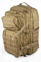 MILTEC ASSAULT Pack US 36l molle coyote LG