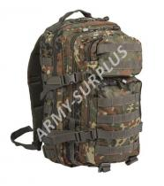 MILTEC ASSAULT Pack US 20L molle flecktarn