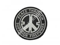 101. INC PVC - Peace Through Superior Firepower suchý zip