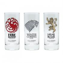 ABYstyle set 3 sklenic Game of Thrones