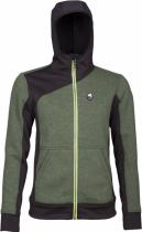 High Point Woolcan 4.0 Lady Hoody fall green/black
