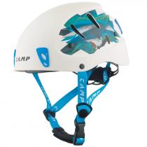 CAMP Přilba Armour white/light blue 50-57 cm