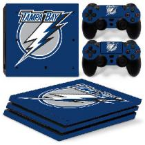 OEM PS4 Pro Polep Skin NHL - Tampa Bay Lightning