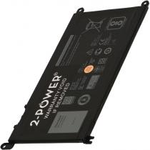 2-POWER 3500mAh pro Dell Inspiron 13 (5368), Latitude 13 3379, Vostro 15 (5568)