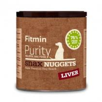 Fitmin Dog Purity Snax NUGGETS liver 180g