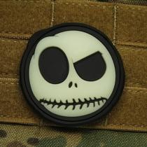 JACKETS TO GO NIGHTMARE SMILEY plast GLOW IN THE DARK