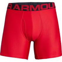 Under Armour Tech 6in 2 Pack Red