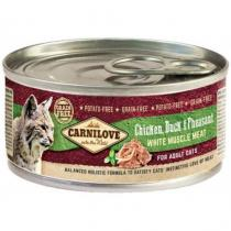 Carnilove White Mus Meat Duck&Pheasant Cats 100g