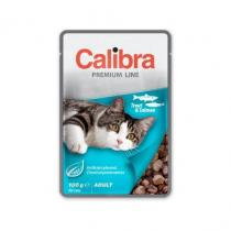 Calibra Cat Premium Adult Trout & Salmon 100g