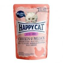 Happy Cat All Meat Junior Huhn&Seelachs 85g