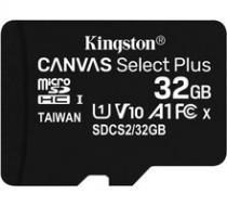 Kingston Micro SDHC Canvas Select Plus 32GB 100MB/s UHS-I - SDCS2/32GBSP