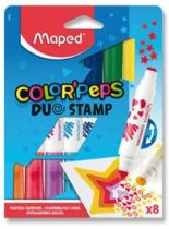 MAPED Fixy Color'Peps Duo Stamp 8ks
