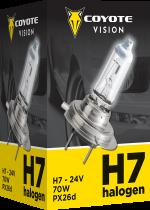 COYOTE Vision 87859 H7 PX26d 24V 70W