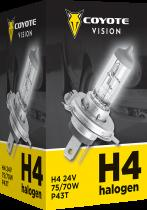 COYOTE Vision 87857 H4 P43t-38 24V 75/70W