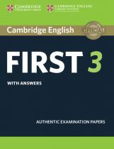 Cambridge English First 3 Student´s Book with Answers