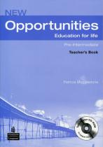 New Opportunities Pre-Intermediate Teacher´s Book Pack - Teachers Book Pack - Patricia Mugglestone