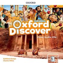 Oxford Discover 3 Class Audio CDs /3/ (2nd)