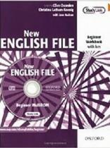 New English File Beginner Workbook with Key+ Multi-ROM Pack - Christina Latham-Koenig, Clive Oxenden