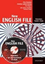 New English File Elementary Teacher´s Book + Tests Resource CD-ROM - Clive Oxenden