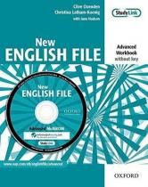 New English File Advanced Workbook Without Key + Multi-ROM Pack - Christina Latham-Koenig, Clive Oxenden