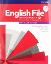 English File Elementary Multipack A with Student Resource Centre Pack (4th) - Christina Latham-Koenig