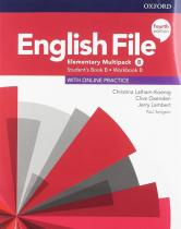 English File Elementary Multipack B with Student Resource Centre Pack (4th) - Christina Latham-Koenig