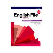English File Elementary Student´s Book with Student Resource Centre Pack 4th (CZEch Edition) - Christina Latham-Koenig