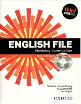 English File Elementary Student´s Book with Online Skills (3rd) without iTutor CD-ROM - Christina Latham-Koenig
